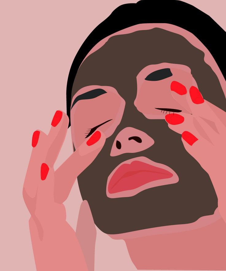 Quick face masks for self care